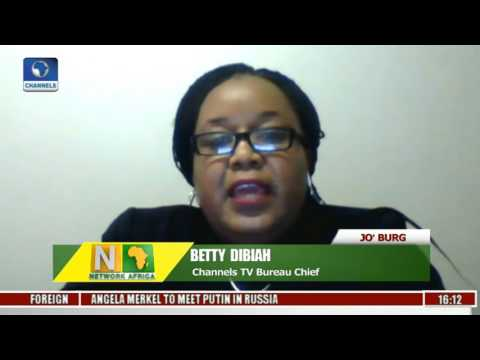 Network Africa: Channelstv S.Africa Bureau Updates On Zuma May Day Boo