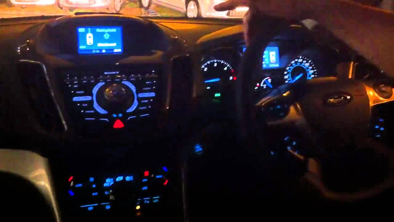 2011 ford focus c max parking assist demonstration youtube. Black Bedroom Furniture Sets. Home Design Ideas