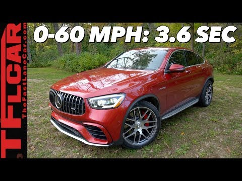 Here's Why The 2020 Mercedes-AMG GLC 63 S Coupe Is A Compact Crossover Muscle Car!