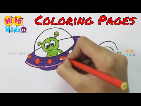 Coloring Pages for Kids, Coloring Videos and Teach Drawing for Children