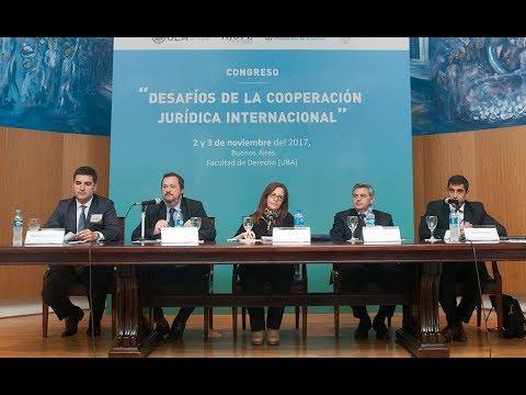 Panel: Cybercrimen - Congreso Desafíos de la Cooperación Jurídica Internacional