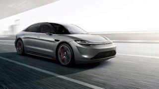 Prvi električni automobil iz Sonya! - Sony Vision S