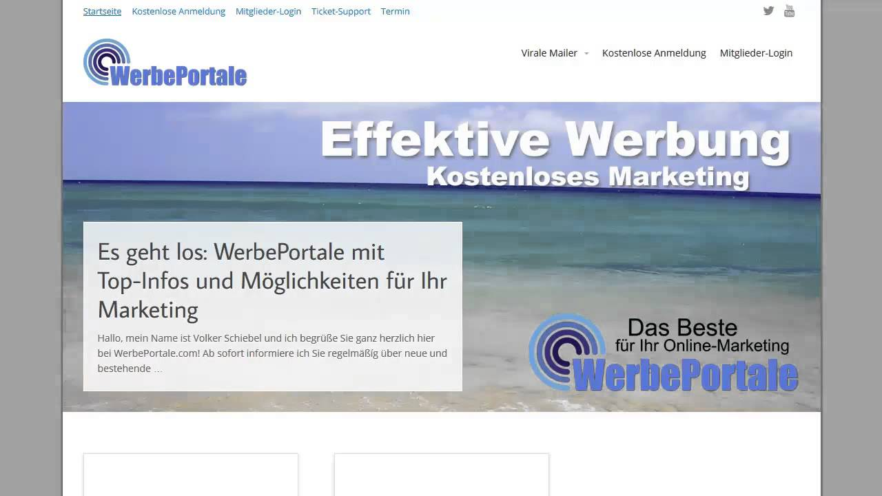 webseite gratis