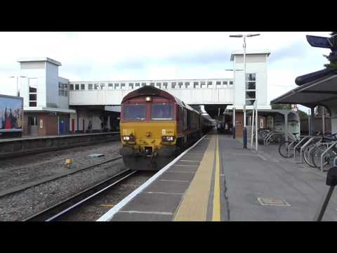 66194 Passes Havant Working 6Y32 Fawley Esso to Holybourne -