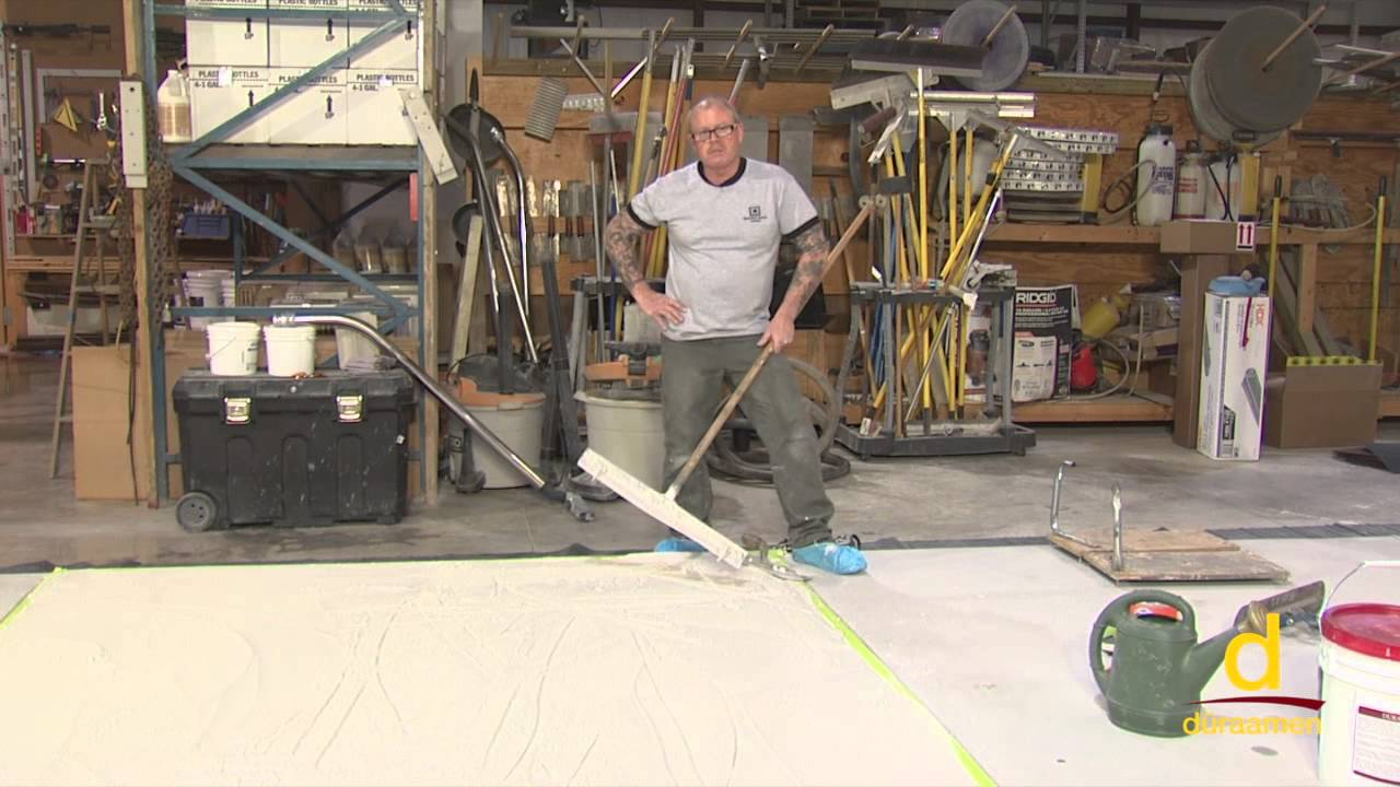 How to Install Stampable Concrete Overlay - Part 2