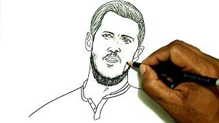 How to Draw Eden Hazard (Football Player)
