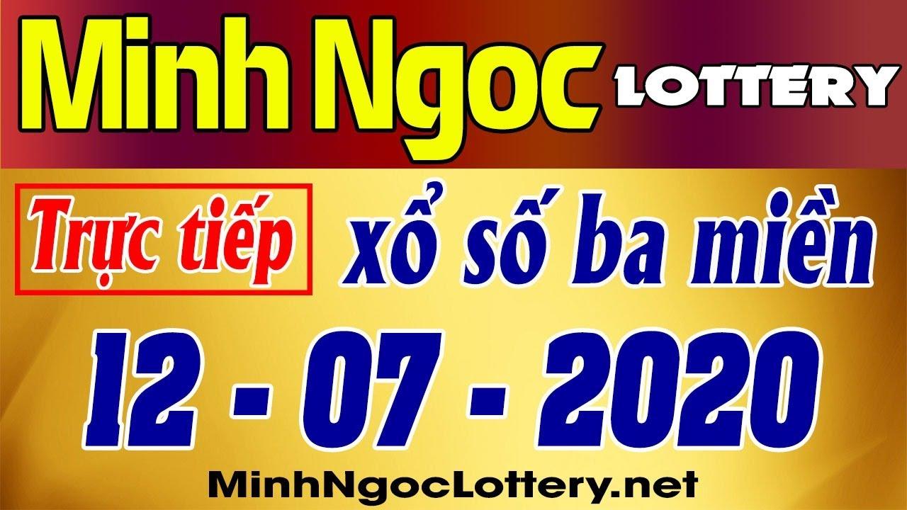 Minh Ngoc Lottery 12/07/2020 - Truc tiep xo so chu nhat, xsmb, xsmn
