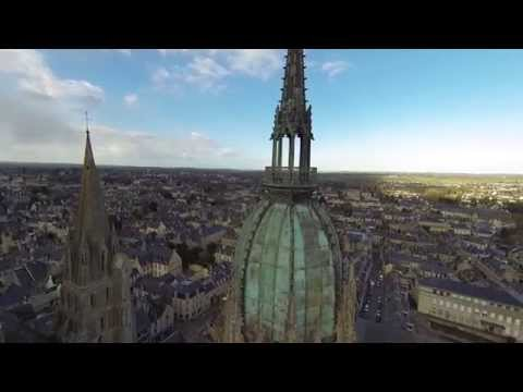 Cathédrale de Bayeux par Drone-activity.com