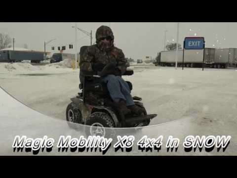 X8 Wheelchair Fire Pit Table And Chairs Set Uk Zeke Extreme 4x4 Get Outdoors In Snow