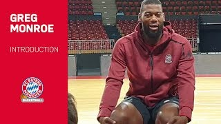 Greg Monroe Press Conference | FC Bayern Basketball | Audi Dome, Munich