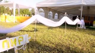 видео Свадьба на природе/в коттедже