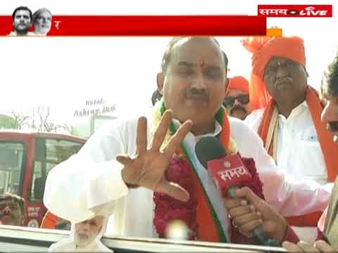 Special talks with BJP leader Rakesh Shah during election campaign in Gujarat