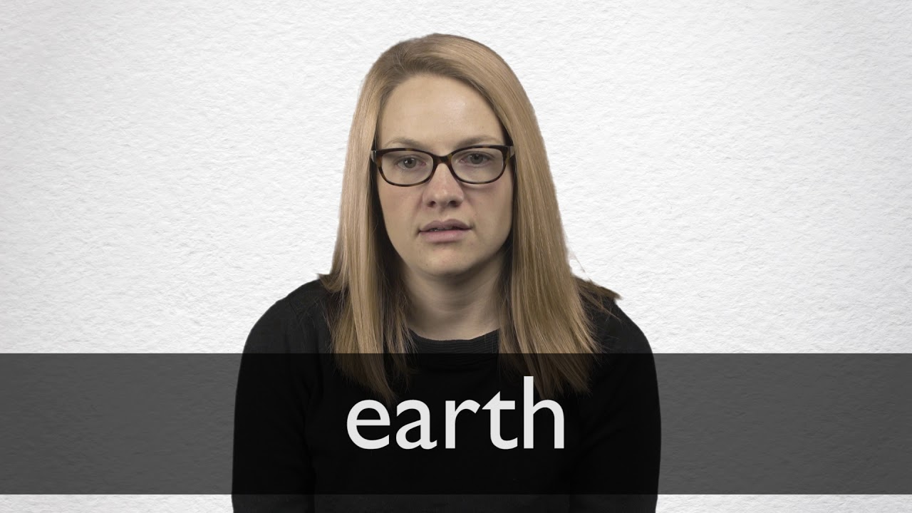 How to pronounce EARTH in British English