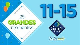 25 Aniversario Sam's Club Parte 3. Momentos difíciles y otros con mucho sabor.