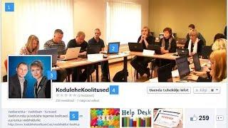 Kuidas käib Facebookis fännilehe tegemine(http://www.kodulehekoolitused.ee/facebookis-fannilehe-tegemine-ettevottele/ Kuidas luua fännilehte Facebookis ettevõttele? Kuidas käib ettevõtte fännilehe ..., 2014-04-15T10:47:41.000Z)