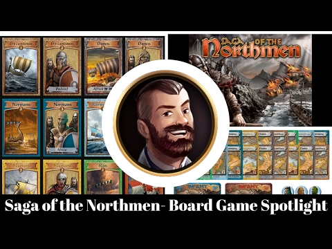 Saga of the Northmen - Board Game Spotlight
