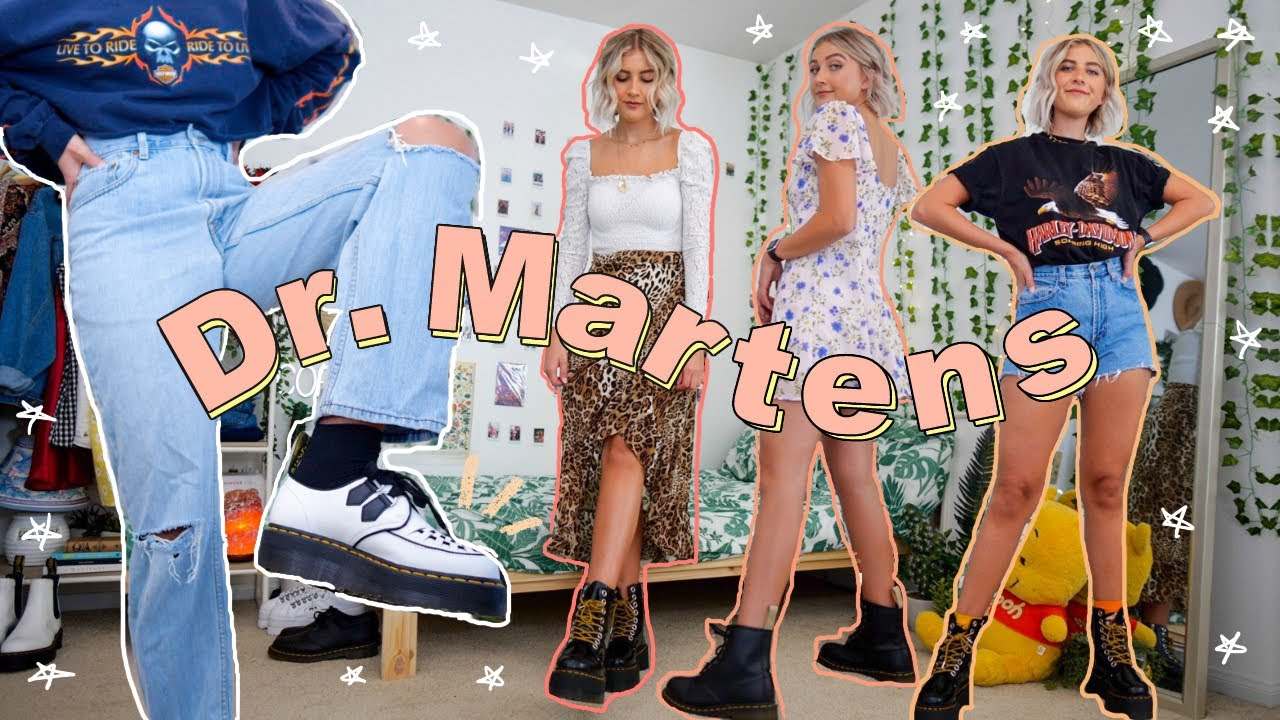 How to Style Dr. Martens | 12 Outfit