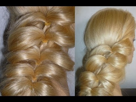 Flecht Frisuren für dünnes Haar.Zopffrisur.Ausgehhfrisur.Braid Hairstyles for Thin Hair.Peinados