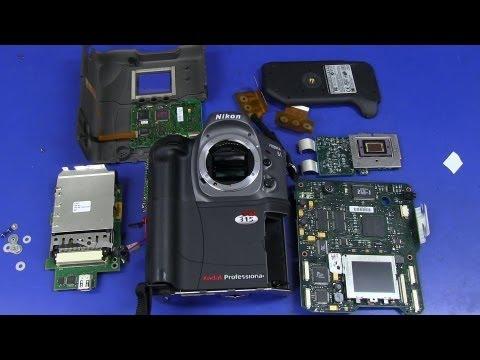 EEVblog #495 - World's First DSLR Camera - Kodak DCS315 Teardown
