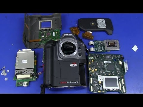 EEVblog #495 - World's First DSLR Camera - Kodak DCS315 Teardown