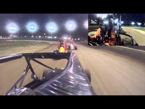 Mel Kenyon Midgets US 24 Speedway Heat 26SEPT15