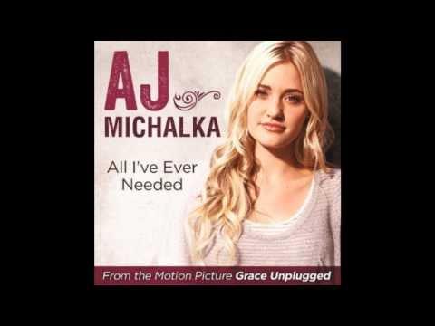 All I've Ever Needed -  AJ Michalka (Lyric Video)