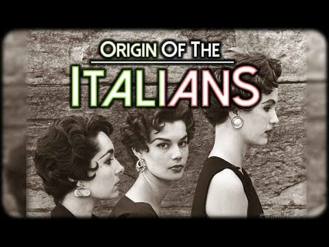 Origin And History Of The Italians