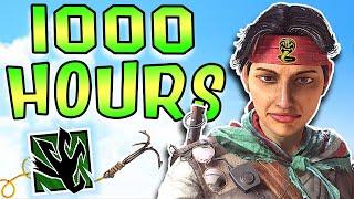 What 1000 HOURS of AMARU Experience Looks Like - Rainbow Six Siege