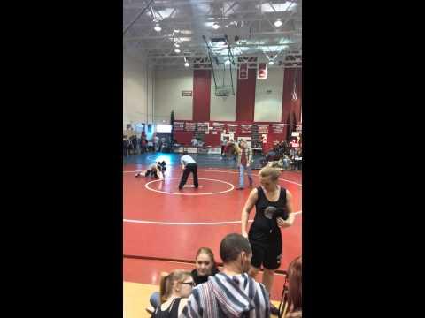 Hannah's Wrestling match(3)