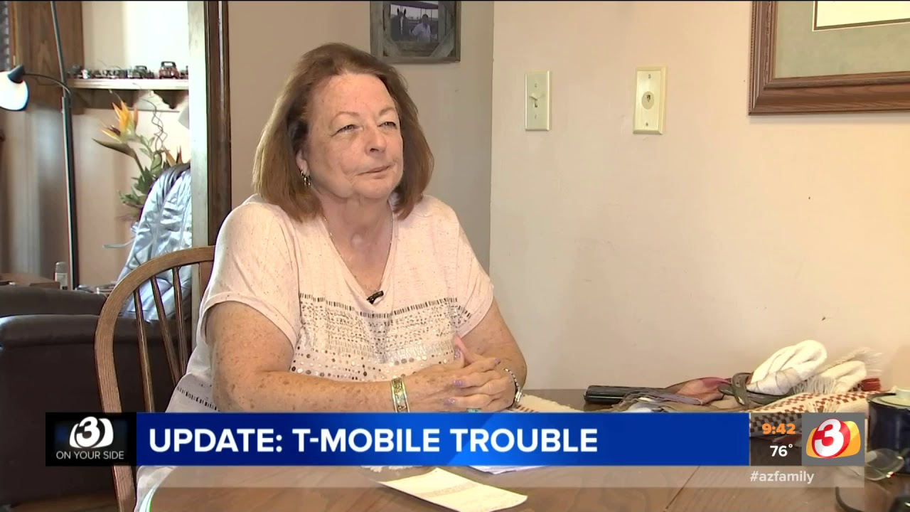 Video San Tan Valley Woman Gets Money Back From T Mobile Youtube