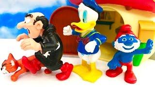 MYSZKA MIKI i SMERFY po Polsku - Kaczor Donald i atak na Gargamela / Mickey Mouse Donald Duck Disney