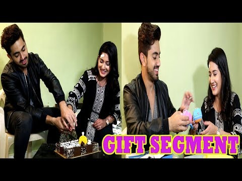 Zain Imam & Aditi Rathore Receive Gifts For Completing 200 Episodes   Telly Reporter Exclusive thumbnail