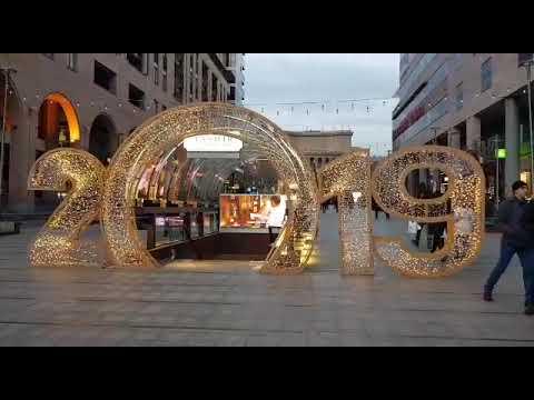 Прогулка по центру Еревана 8 января 2019 г/nail Studio Иль Дэ Фамм