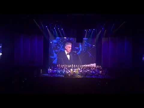 Nessun Dorma Andrea  Bocelli LIVE in Bratislava