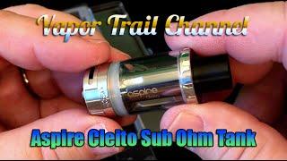 Aspire Cleito Sub Ohm Tank & The Classic Pop Eliquid