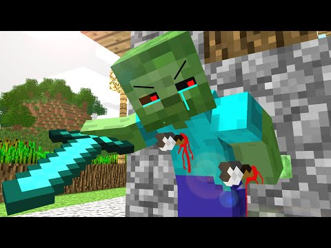 Thumbnail: Zombie Life - Craftronix Minecraft Animation