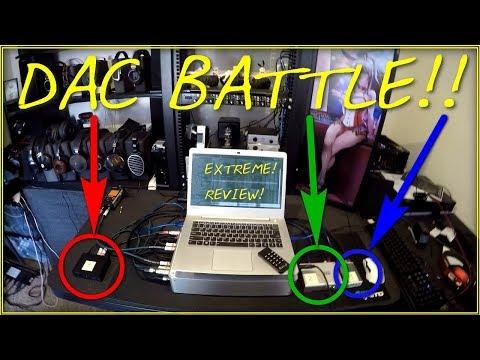 Z Review - DAC BATTLE!! -- IFI vs Schiit vs JDSLabs (Can multibit pull out a win?)