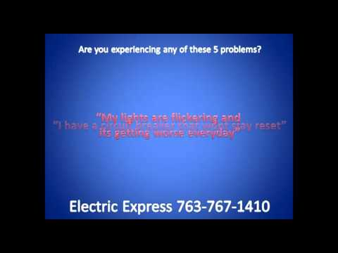 Electric Express 5 Problems Video Minneapolis Electrician