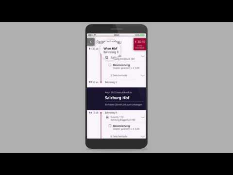 Mein Erstes Ticket - Die ÖBB App