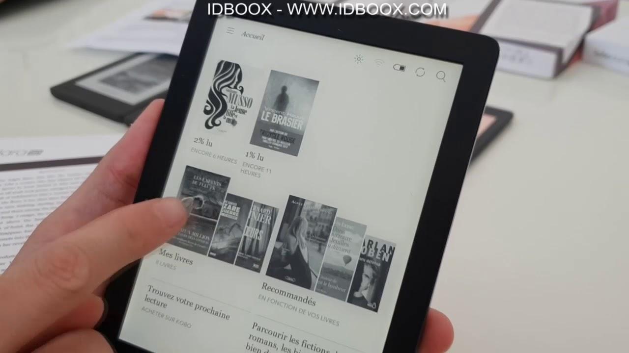 100% d'origine classique vente discount Kobo Clara HD découverte de la liseuse e-ink lecture ebooks