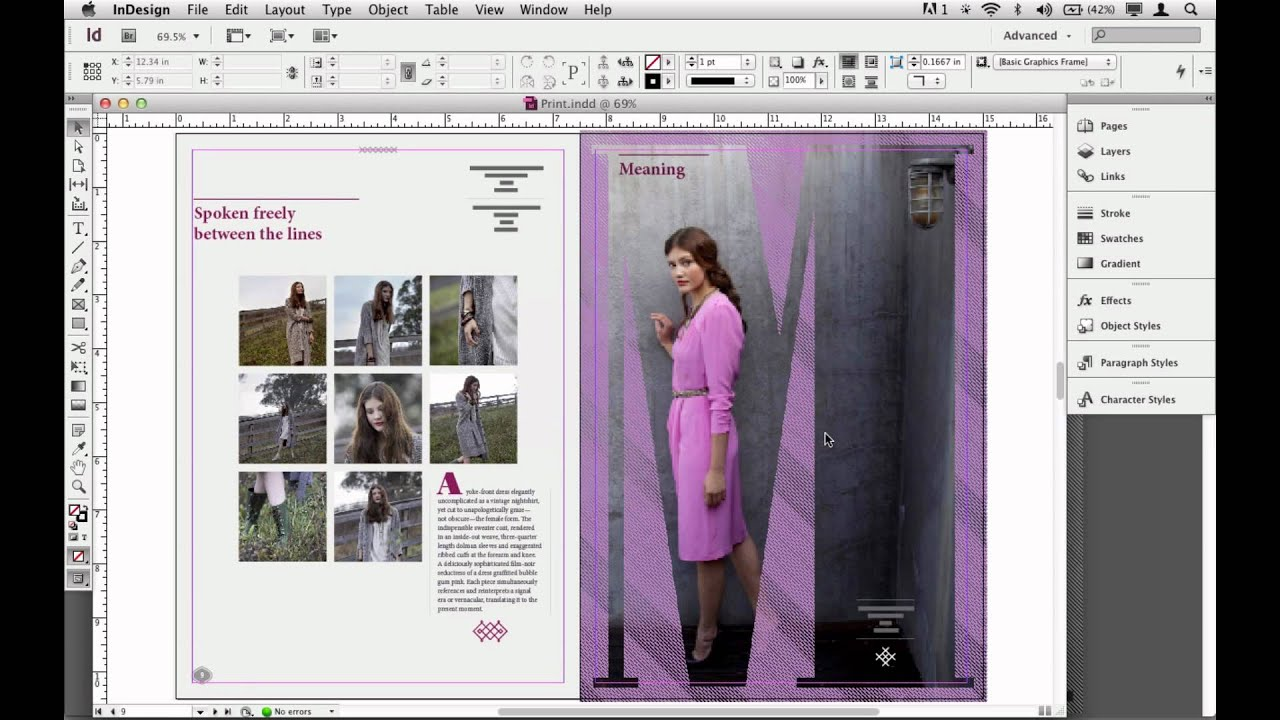 New Hidden Gems In Adobe Indesign Cs6