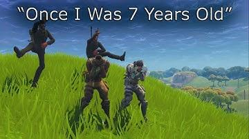 7 Years - Lukas Graham/Fortnite Default Music Video