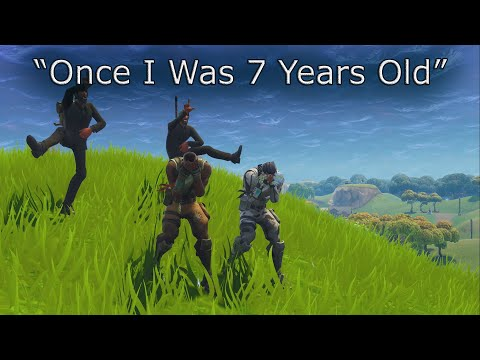 7 Years - Lukas Graham/Fortnite Default Music Video
