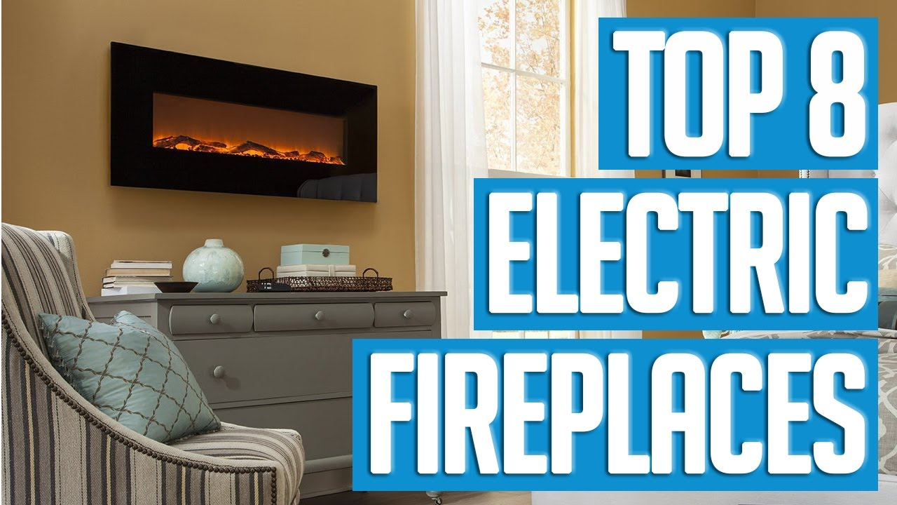 8 best electric fireplaces 2017 youtube