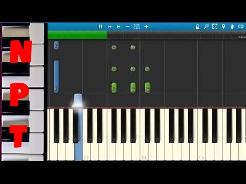 Christina Perri - The Words - Piano Tutorial - How To Play The Words - Synthesia