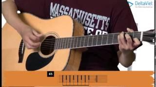 Sách tự học Guitar Đệm Hát (Lê Vũ Acoustic) - Bài 09 - Luyện đệm phím (picking)
