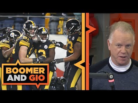Pittsburgh Steelers SCORE 52 points  | Boomer and Gio