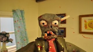 A Claymation Plants vs Zombies Film HD Action