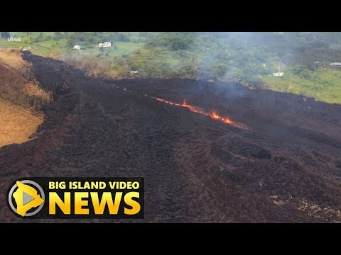 Hawaii Eruption Update, 11 am Conference Call (May 17, 2018)