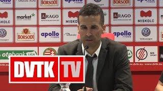 Fernando Fernandez értékelése | DVTK - Mezőkövesd | 2018. május 5. | DVTK TV